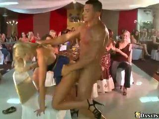 Strangers fuck drunken party girls