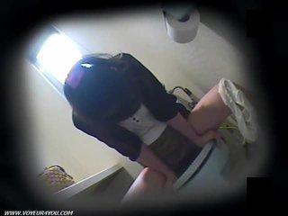 Toilet Masturbation On Hidden Camera