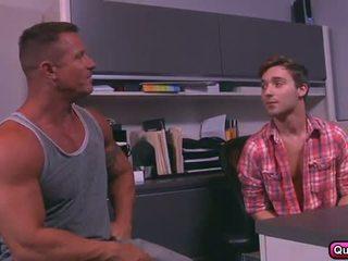 besar batang, gay, otot