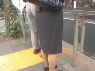 Japonesa violada en el metro